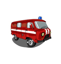 fast help car vector image
