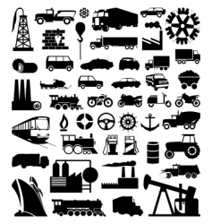 industry vector image