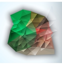 Geometric triangular abstract modern vector