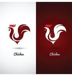 Chicken 2 vector image