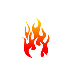 fire element template vector image