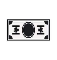 Isolated money bills design vector image