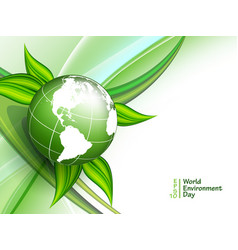World environment day vector