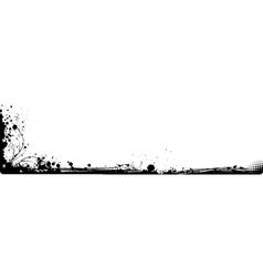 grunge corner vector image
