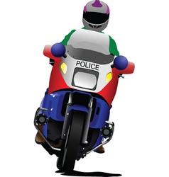 motorbikes vector image