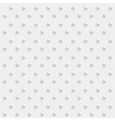 White 3d dots - seamless vector