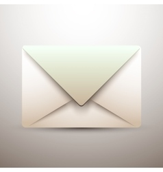 Old mail icon - vector