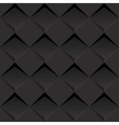 Black 3d background vector image