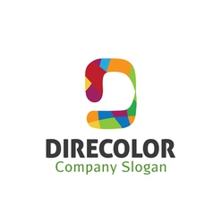 Direcolor design vector