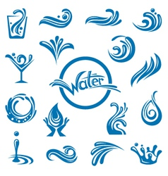 Waters design vector