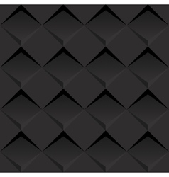 Black 3d background vector