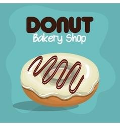 delicious donuts bakery shop vector image vector image