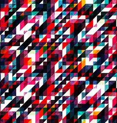 retro red pixel seamless texture vector image vector image