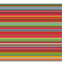 Seamless shaded stripe tubes in different rainbow vector