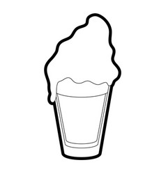 Milkshake vector