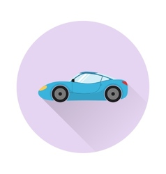 Sports car icon vector