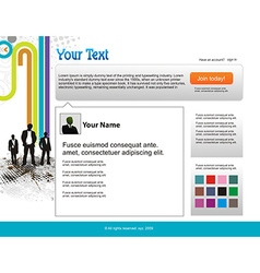 Twitter themes vector