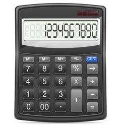calculator 01 vector image vector image