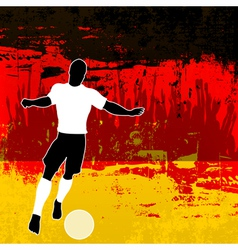Football germany vector