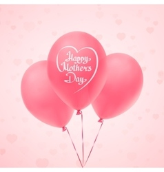 Happy Mothers Day background template vector image vector image