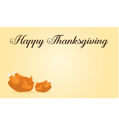 Happy thanksgiving style card collection vector