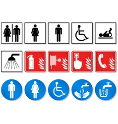 Pictogram sign vector