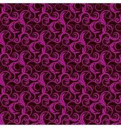 Violet seamless wallpaper pattern vector