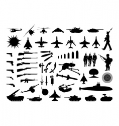 Military collection vector