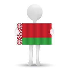 Flag of republic of belarus vector