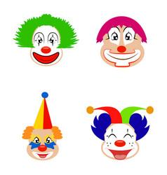 Funny cute clown vector