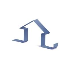 Ribbon Icon Home vector image vector image