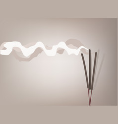 Incense stick vector
