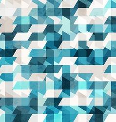 blue pixel seamless pattern vector image