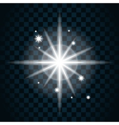 Shine star sparkle icon 14 vector