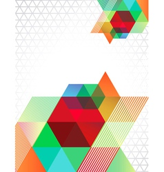 TriangleTransparent vector image