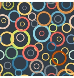 Vintage ring pattern vector