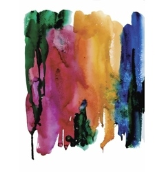 Colorful watercolor abstract background vector