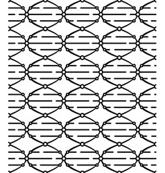 Dna seamless pattern vector
