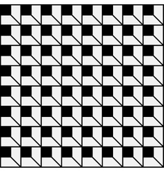 Black White Seamless Pattern vector image vector image