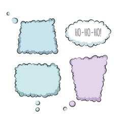Bubbles Collection vector image vector image