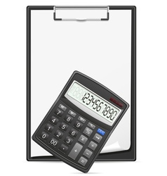calculator 03 vector image vector image