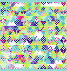 cloth seamless pattern grunge effect vector image