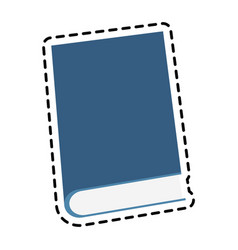 single book icon image vector image vector image