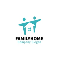 Family home design vector