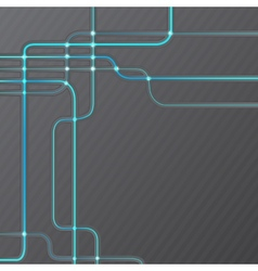 Abstract technical hitech grunge background vector image vector image