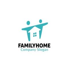 Family home design vector
