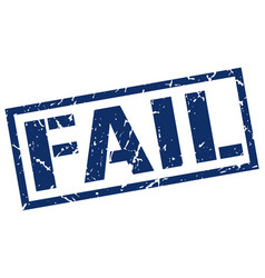 Fail stamp vector