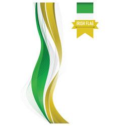 Ireland flag background vector