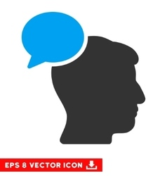Person idea eps icon vector