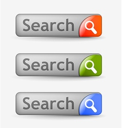 search bars vector image vector image
